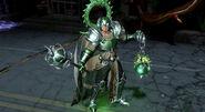 Jade Warrior Arcane Green Lantern Skin Costume Gameplay