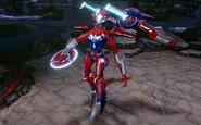Sky Racer Mecha Wonder Woman Gameplay Skin Infinite Crisis
