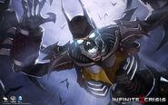 Nightmare Batman Revenant Skin Art
