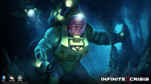 Trench Diver Lex Luthor Costume Skin Art Widescreen