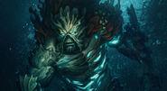 Defender of the Deep Swamp Thing Splash Art Skin