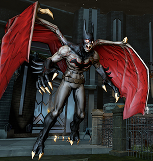 Nightmare Batman Updated Character Change Model