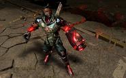 Argus Agent Cyborg Infinite Crisis Gameplay Skin