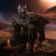Desert Armor Batman Prime Skin Costume