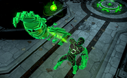 Shattered Light Atomic Green Lantern Skin Costume Gameplay