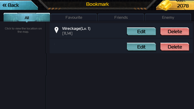AoW ListBookmarks