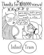 800,000 Views Infinity Train