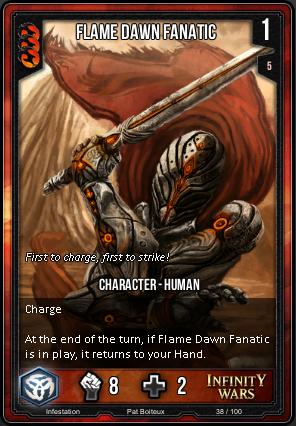 INFESTATION- Flame Dawn Fanatic