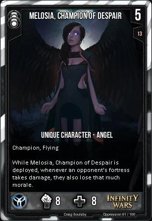 OPPRESSION- Melosia, Champion Of Despair