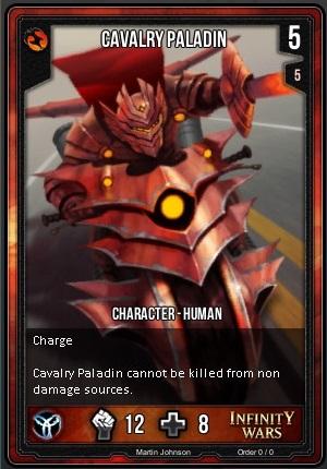 ORDER- Cavalry Paladin T
