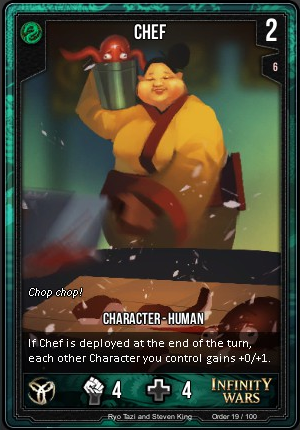 ORDER- Chef