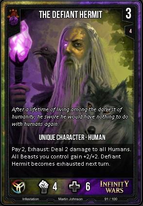 INFESTATION- The Defiant Hermit