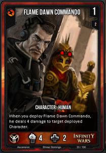 Flame Dawn Commando
