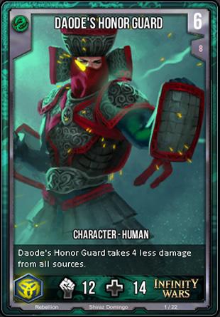 REBELLION Daodes Honor Guard