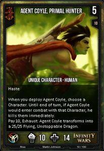 Agent Coyle, Primal Hunter