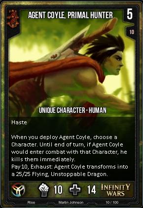 RISE- Agent Coyle, Primal Hunter