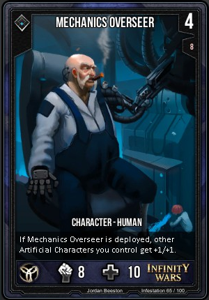INFESTATION- Mechanics Overseer