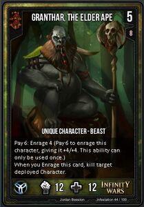 Granthar, the Elder Ape