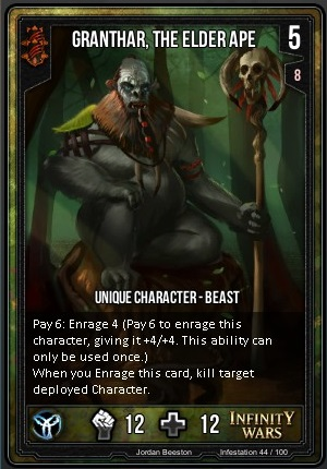 INFESTATION- Granthar, The Eldar Ape