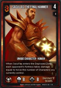 Sacullas the Final Hammer