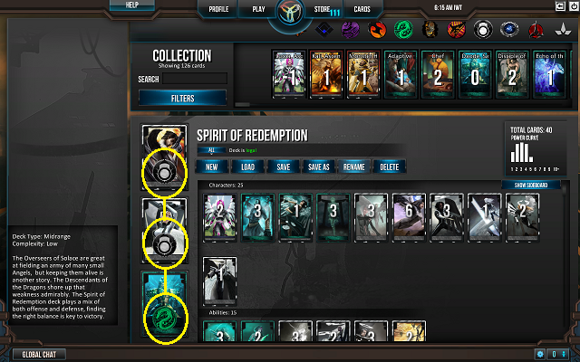 Deck purity example 2 - Double OoS, Single Dod1