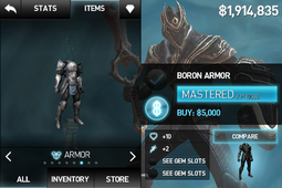 Boron Armor