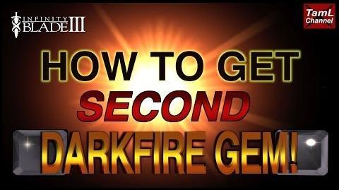 Infinity Blade 3 HOW TO GET SECOND DARKFIRE GEM!-0