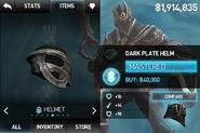 Dark Plate Helm