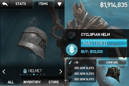Cyclopian Helm