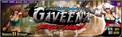 Gaveena banner