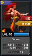 Fully maxed sarkan