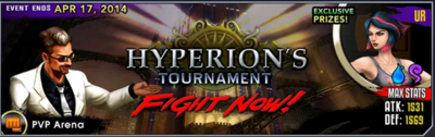 Hyperion's Tournament