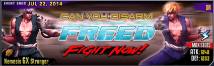 Freed banner
