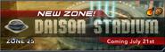 Daison stadium banner