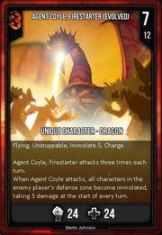 Agent coyle firestarter evolved