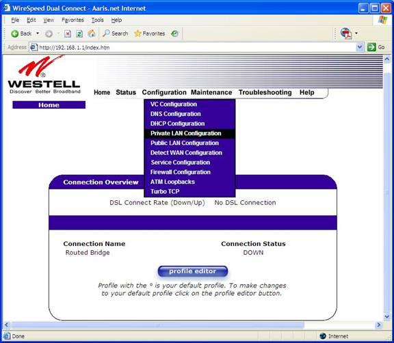 Westell 6100 image012
