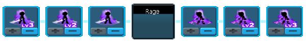 Gladiator Rage Skill