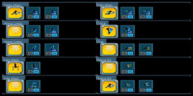 Thief Combo Skill