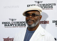 Samuel L. Jackson at film premiere