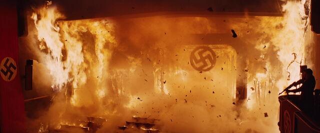 File:The Nazi Swastika falls in the cinema fire.jpg