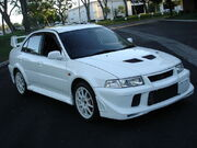 Mitsubishi Lancer Evolution VI Tommi Makinen Edition