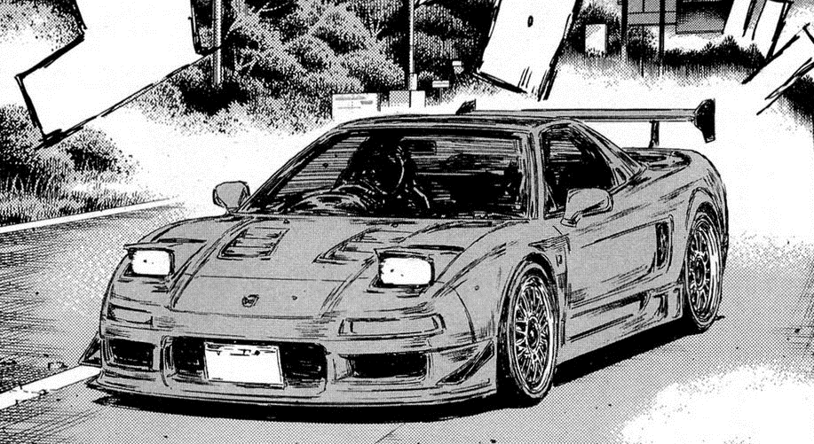 image nsx initial d wiki fandom powered by wikia. Black Bedroom Furniture Sets. Home Design Ideas