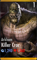Killer Croc - Arkham