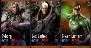 Superman Godfall standard challenge battle 1 match 3