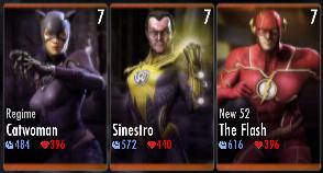 Superman Godfall standard challenge battle 1 match 7