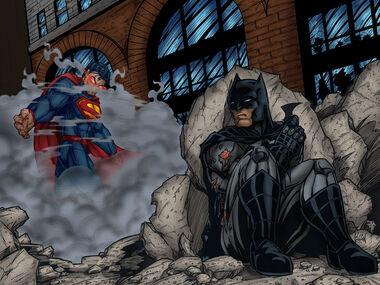 Justice League The World's End Final Battle Concept Art