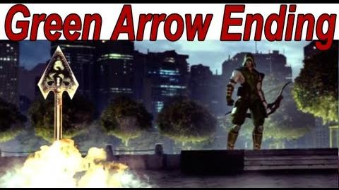 Injustice Gods Among Us - Green Arrow Ending 【HD】