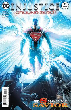 Injustice Ground Zero Issue 11 Cover