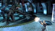 DCF GreenArrow ArrowSkin vs Deathstroke 01