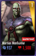 Martian Manhunter IOS